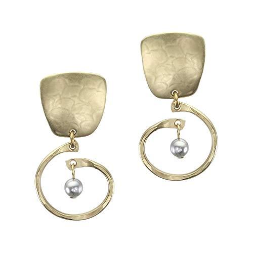 Square Spiral Earrings - 3