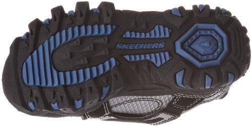 Skechers Damager Spaceship Fashion - Zapatillas de niños con cierre de velcro Plata - Silver/blue2