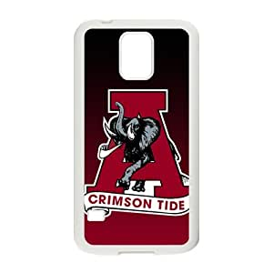Alabama Crimson Tide Design Hard Case Cover Protector For Samsung Galaxy S5