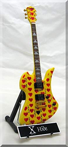 X-JAPAN HIDE - Guitarra en miniatura con etiqueta: Amazon.es: Instrumentos musicales