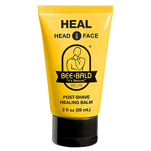 (Bee Bald Heal Post-Shave Healing Balm, 2 fl. oz.)
