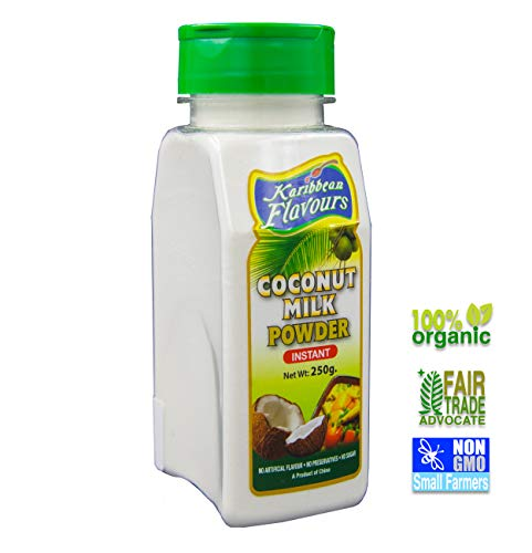 (Premium Caribbean Instant Coconut Milk Powder - Organic - Non GMO)