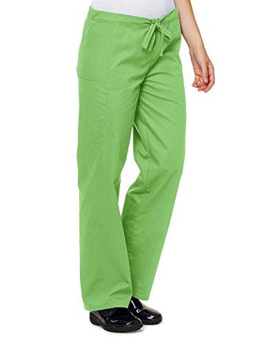 Lydia's Select Unisex Drawstring Pant, Green Apple, Large