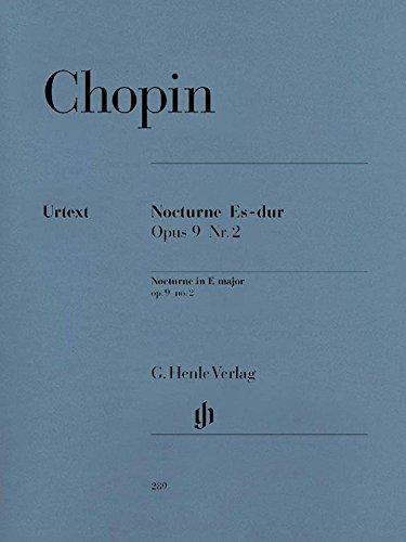 Nocturne E flat major op.9/2 - piano - (HN 664) Chopin Nocturne In E Flat