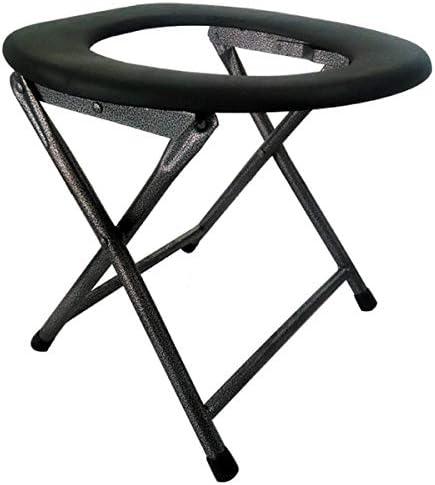 介護用ポータブルトイレ椅子 トイレの 椅子鋼管の便座の 折り畳むことができます ポータブル 軽量 介護用 高齢者、手術回復、障害者、携帯式浴室椅子に適している