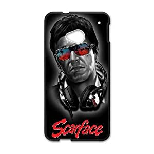 Al Pacino Scarface For HTC One M7 Cell Phone Case Black BTY658401