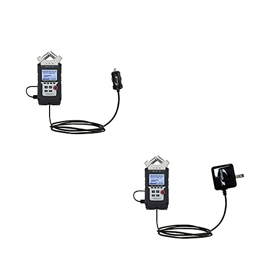 Essential Gomadic AC /DC Charge Accessory Bundle Kit for the Zoom H4N Pro includes Gomadic Home and Car Chargers at a Money Saving Price. Based on TipExchange Technology
