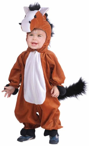 Kids Plush Horse Costume (Woody Halloween Costume 2t)