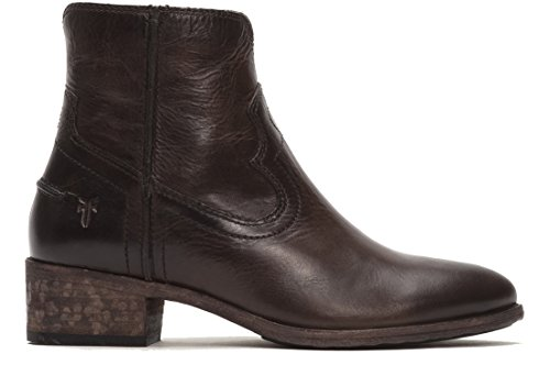 FRYE Women's Ray Seam Short Boot,  Slate, 8.5 M US by FRYE