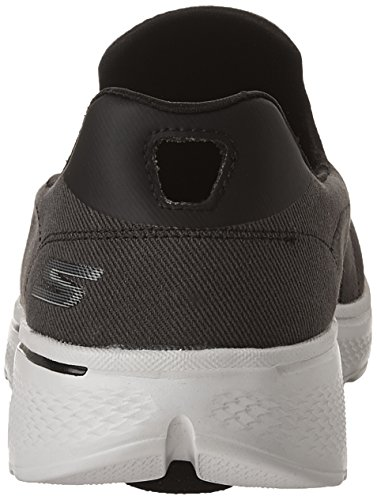Parent Baskets Black Gray Walk Basses 4 Go Skechers Homme 1nwqpOtU