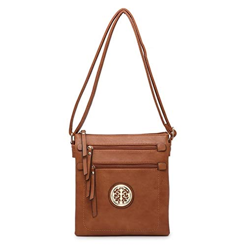 crossbody London Women's Pocket Brown mini small bag Multiple shoulder messenger handbag New Craze 8dFEwqq
