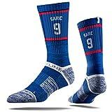 NBA Philadelphia 76ers Strideline Player Crew Socks , Dario Saric , Dario Saric