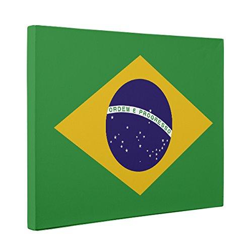 Brazil Flag CANVAS Wall Art Home Décor