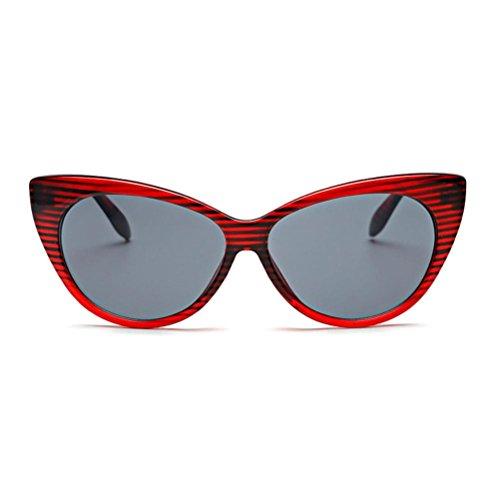 de de soleil Glasses Rouge Reaso Été lunettes Hommes Unisex chat Femmes Oeil Yqw4zg