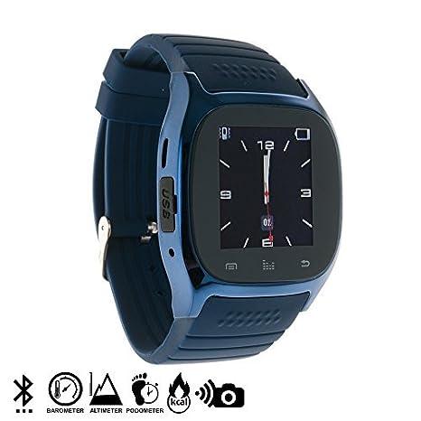 DAM - Smartwatch Timesaphire Bt Blue. Agenda de contactos, marcador, mensajes SMS, registro de llamadas, aviso de notificaciones, reproductor de ...