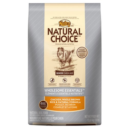 Nutro Natural Choice Senior Dog Food, 5 Lbs