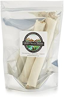 product image for Green Valley Treats Plain Rawhide Roll for Large Dogs, American Beef-Hide Only
