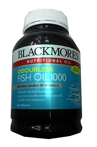 Blackmores odourless fish oil 1000 mg 400 capsules good for Fish oil pills for buttocks review