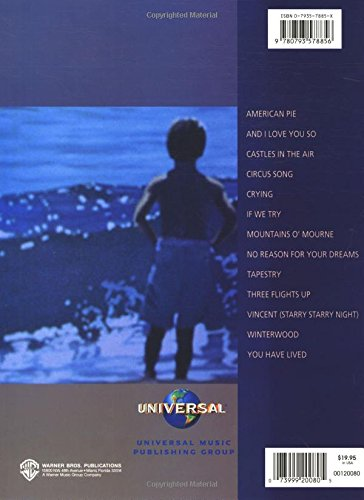 The Don Mclean Songbook 13 Of His Greatest Songs Don Mclean