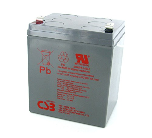 CSB HR1227W High Rate AGM Battery