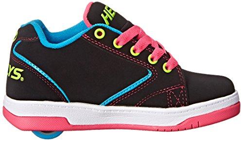 Basso a Multi Neon Black Collo 2 Bambina Nero Heelys Sneaker 0 Propel wxYqaFIH1