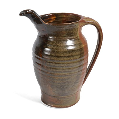 Holman Pottery Small Pitcher, Red Earth