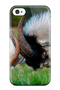 New AshleyPWeber Super Strong Goats Tpu Case Cover For Iphone 4/4s