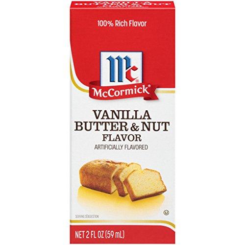 Cinnamon Vanilla Cake (McCormick Imitation Vanilla Butter & Nut Flavor, 2 oz)