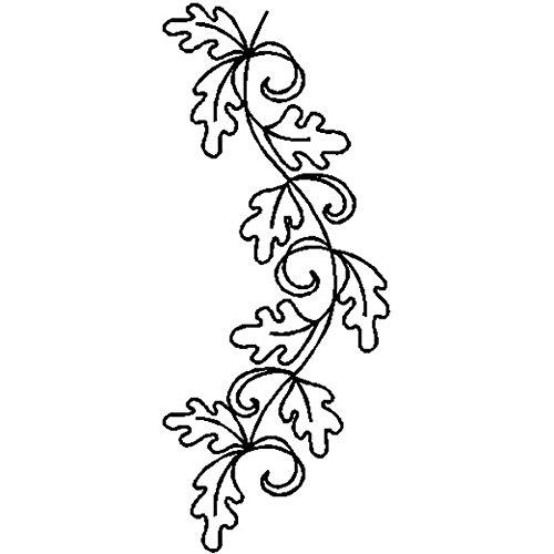 Quilting Creations Edyta Sitar Oak Leaf Border Cut Shape Stencil, -