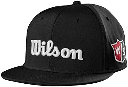 Wilson Staff Flat Brim Cap Gorra de Golf, para Hombre, Visera ...
