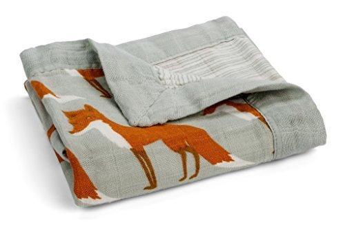 (Milkbarn Muslin Mini Lovey Blanket (Fox))