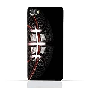 AMC Design Alcatel A5 LEDTPU Silicone Protective case with Basketball Texture Pattern