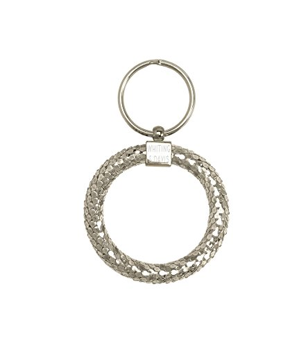 whiting-davis-classic-circle-key-ring