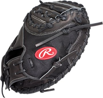 Rawlings Pro Mesh - Rawlings Heart of the Hide Pro Mesh 32.5-inch Catcher's Mitt, Right-Hand Throw (PROJP20MX)
