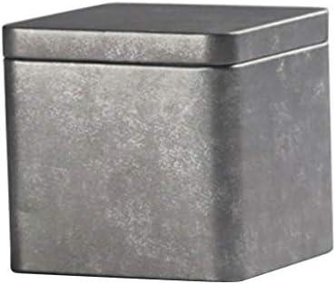 ティー缶 茶筒 ティー収納ボックス チョコレート キャンディー 紅茶 貯蔵容器 - #1