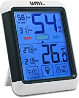 UMI. Essentials - Igrometro Digitale Termometro Interno Misuratore di Temperatura e umidità Ambiente con...