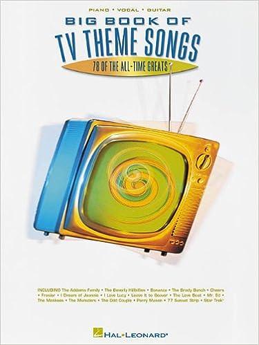 Big Book of TV Theme Songs: Hal Leonard Corp : 0073999105049