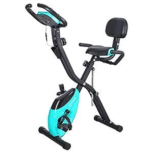 XJEB Bicicleta de Ejercicio Plegable con Capacidad de 150 kg ...