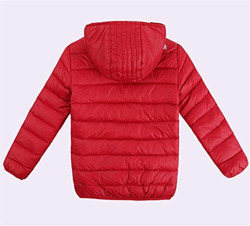 Down Boys Jacket Lightwear Red Lemonkids® Coat Kids Winter Outwear Chic Hooded F5wSw0q