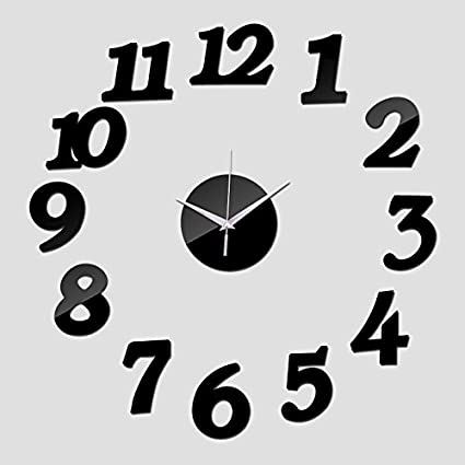 Treading - New Wall Clock Watch Clocks Reloj De Pared Modern Design Horloge Large Decorative 3d