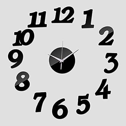 Treading - New Wall Clock Watch Clocks Reloj De Pared Modern Design Horloge Large Decorative 3d