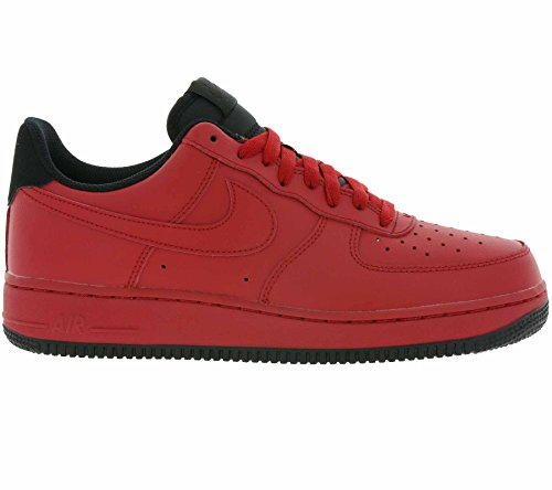 Nike, Uomo, Air Force 1 07 Gym Red, Pelle, Sneakers, Rosso