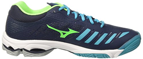 Z4 Peacockblue Dressblues Homme de Wave Multicolore Greengecko Mizuno 36 Running Lightning Chaussures xABqOpcUaw