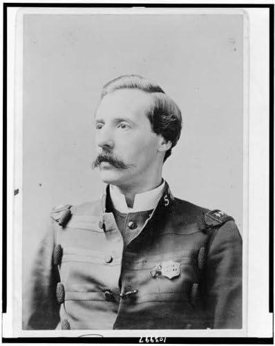 Photo: Ballington Booth,wearing Salvation Army uniform,officer,Volunteers,America,1887