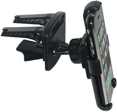 Amzer Swiveling Air Vent Mount Holder for iPhone 5C Black Retail Packaging