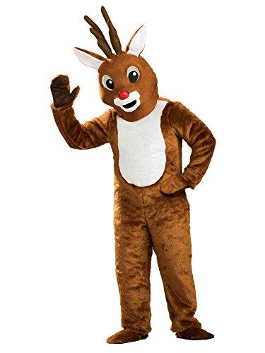 Rubie's Reindeer Mascot Costume, Brown, One Size