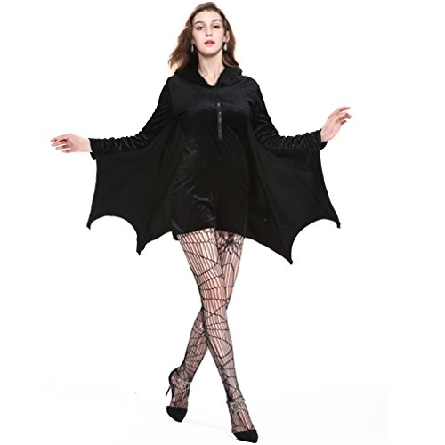 Dolloly Halloween Adult Costumes Cosplay Dress Sexy Halloween Costumes (XL)