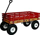 630 Heavy Duty 24'' x 48'' Work or Play Wagon 1100 # Rated