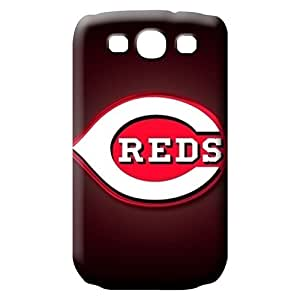 samsung galaxy s3 mobile phone carrying skins Skin Eco Package New Snap-on case cover cincinnati reds