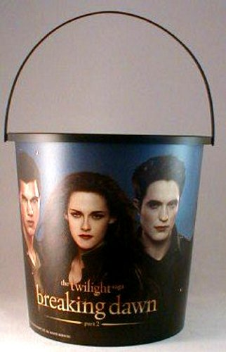Twilight Breaking Dawn Part 2 Theater Exclusive Promotional 130 Oz Plastic Popcorn Tub
